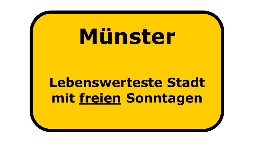 """Bürgerbegehren """"Freier Sonntag Münster"""""""