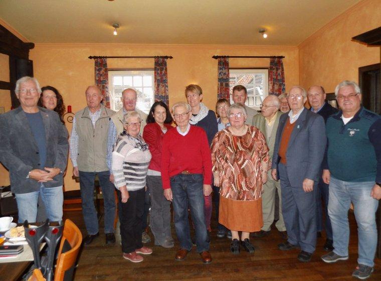 Jubilarehrung 2015 des Ortsverein Lengerich