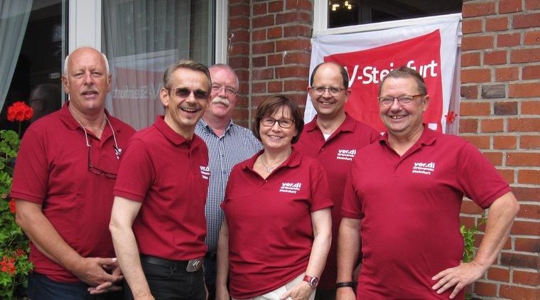 Vorstand des Ortsverein Steinfurt 2016