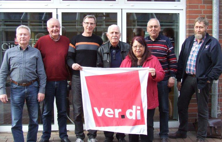 Vorstand des Ortsverein Gronau/Ahaus 2016