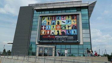 Blick aufs Rock und Pop Museum