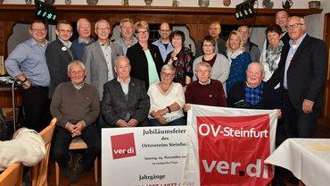 Jubilarehrung 2017 des Ortsverein Steinfurt am 04.11.2017