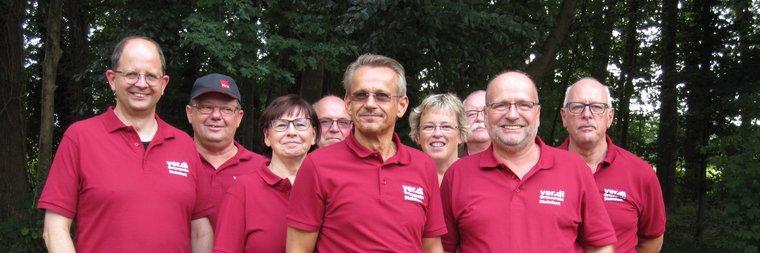 Vorstand des Ortsverein Steinfurt 2018