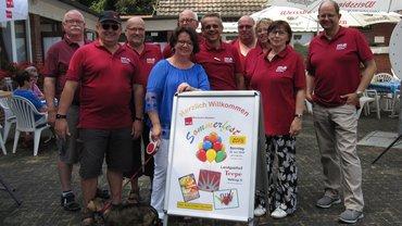 Sommerfest 2017 des Ortsverein Steinfurt am 22.07.2018