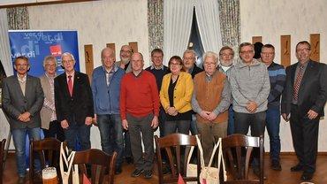 Jubilarehrung 2018 des Ortsverein Steinfurt am 03.11.2018