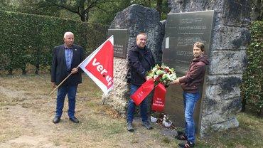 Gedenkveranstaltung am Antikriegstag, 1. September 2020, in Bocholt
