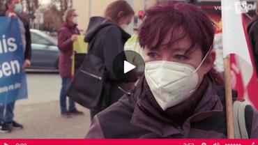 Kristin pocht auf ihr Recht auf Maskenpause