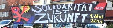 Maikundgebung in Borken am 1. Mai 2021