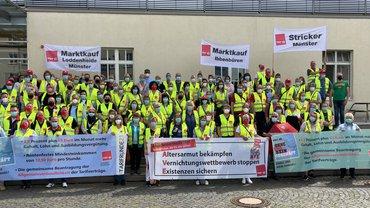 Streiks im Münsterland gehen weiter