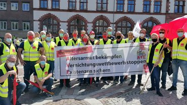 Großer Streiktag in Dortmund